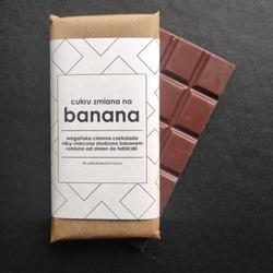 Czekolada Cukru Zmiana na Banana