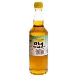 Dobry olej rzepakowy do smażenia - 500ml
