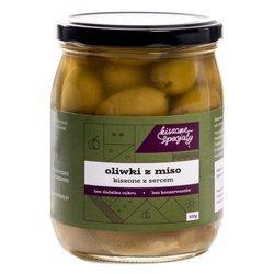 Kiszone oliwki z pastą Miso 520g