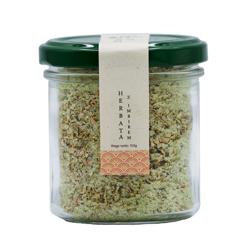 Zielona sól z suszonym korzeniem imbiru