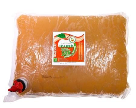 Sok jabłkowy 100% tłoczony - 5L słodyczy