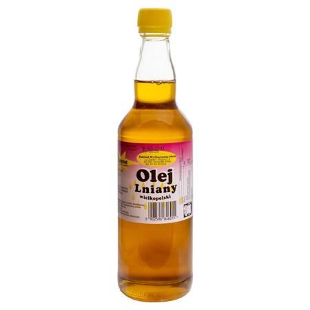 Zdrowy olej lniany 500ml